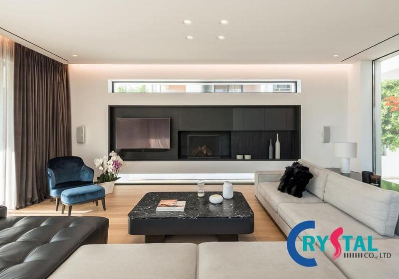 phong cách thiết kế nội thất đương đại là gì - Crystal Design TPL