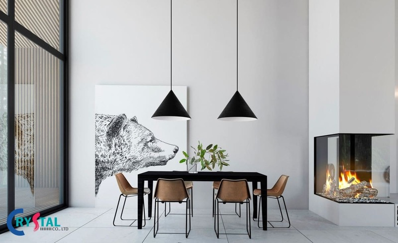 phong cách thiết kế nội thất minimalism - Crystal Design TPL