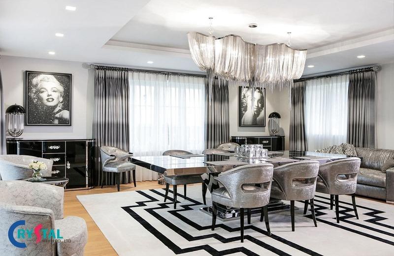phong cách thiết kế nội thất phổ biến - Crystal Design TPL