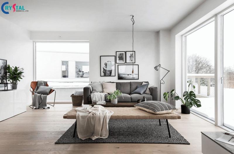 phong cách thiết kế nội thất scandinavian - Crystal Design TPL