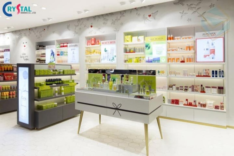 phong cách thiết kế nội thất showroom đẹp - Crystal Design TPL