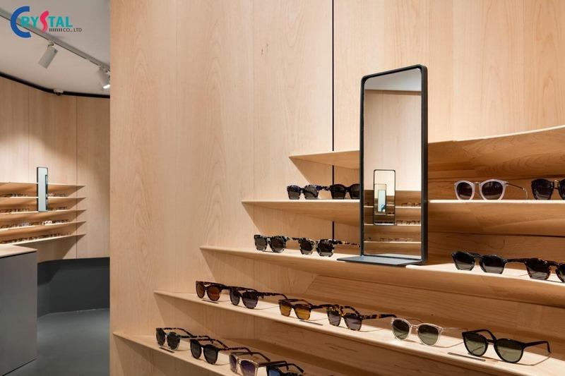 phong cách thiết kế nội thất showroom - Crystal Design TPL