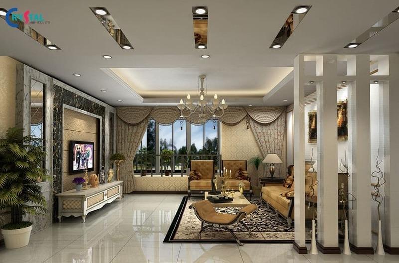 phong cách thiết kế nội thất tân cổ điển là gì - Crystal Design TPL