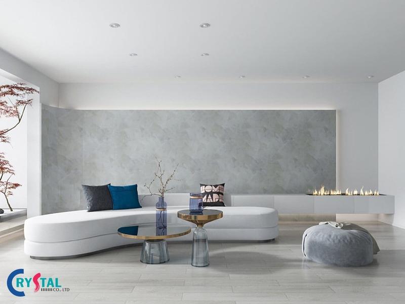 phong cách thiết kế nội thất tối giản - Crystal Design TPL