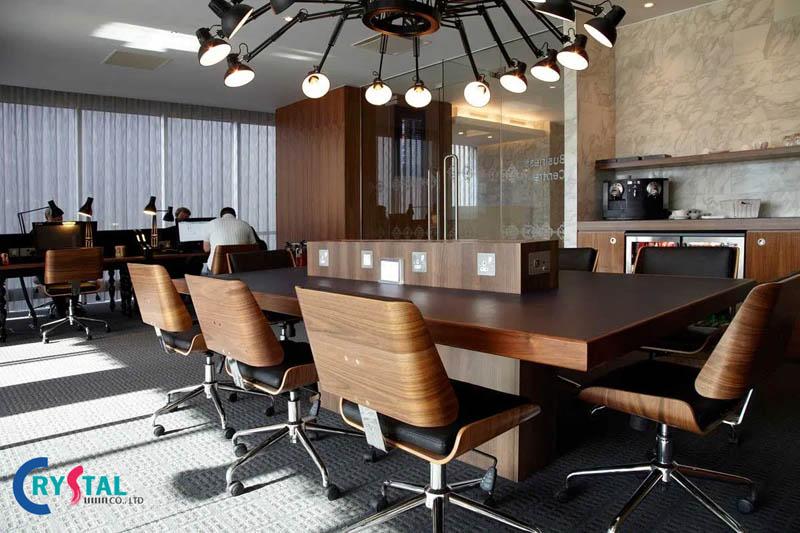 phong cách thiết kế nội thất văn phòng - Crystal Design TPL