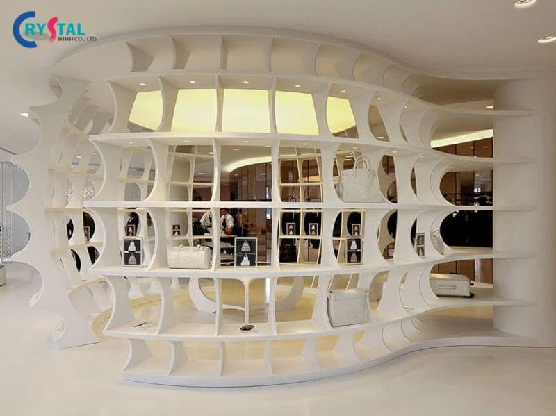 phong cách thiết kế phù hợp cho showroom - Crystal Design TPL