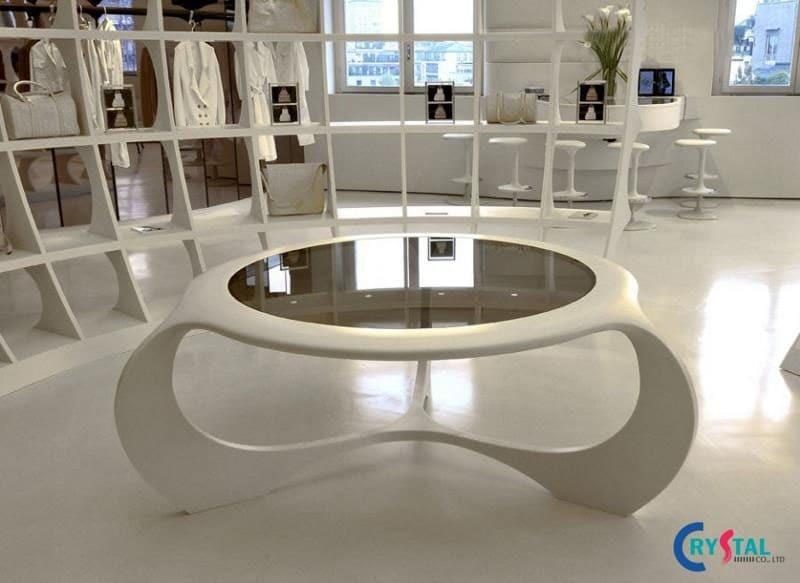 phong cách thiết kế showroom ấn tượng - Crystal Design TPL