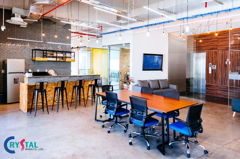 phong cách thiết kế văn phòng - Crystal Design TPL