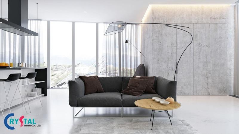 phong cách tối giản nội thất và kiến trúc - Crystal Design TPL
