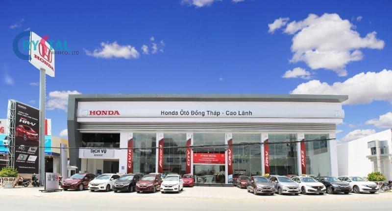 phòng trưng bày ô tô showroom đẹp nhất - Crystal Design TPL
