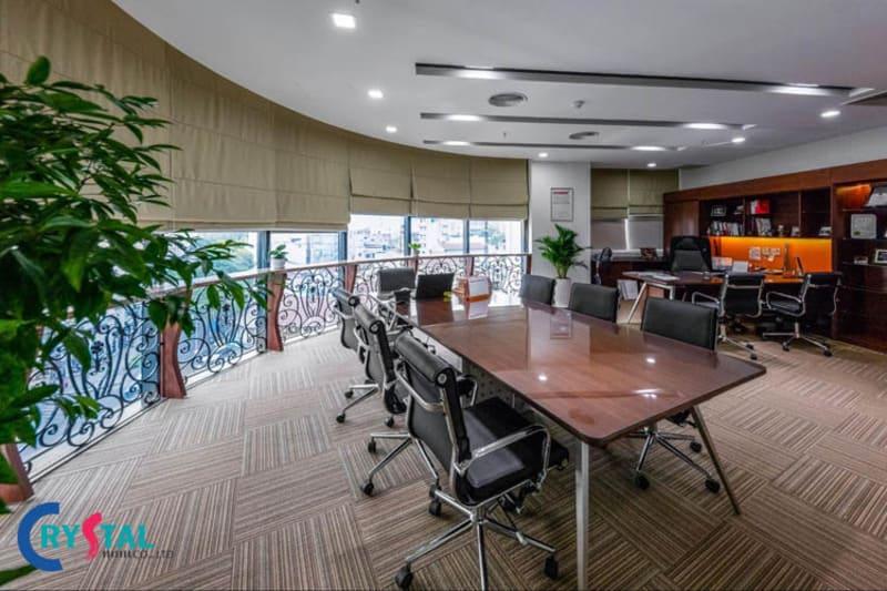 quy chuẩn thiết kế văn phòng làm việc - Crystal Design TPL