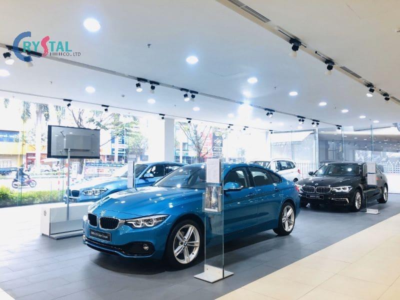 showroom ô tô đẹp - Crystal Design TPL