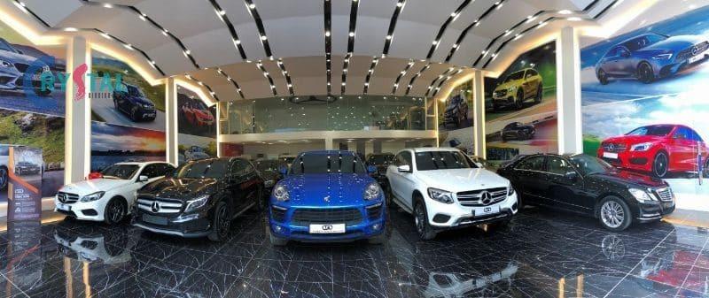 showroom ô tô - Crystal Design TPL