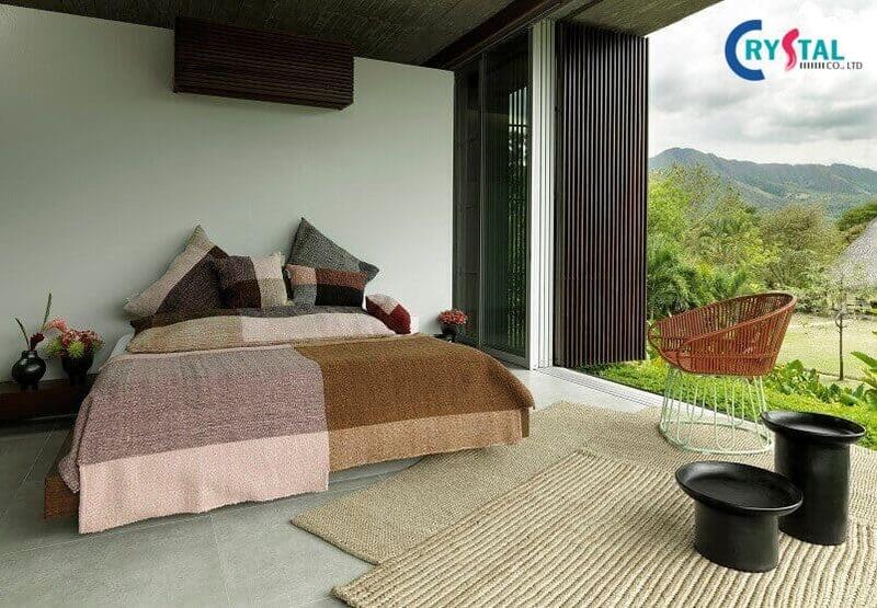 thi công nội thất căn hộ - Crystal Design TPL