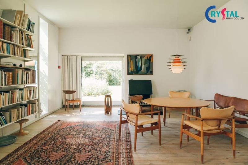 thi công nội thất chung cư giá rẻ - Crystal Design TPL