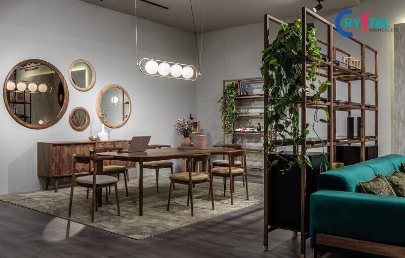thi công nội thất chung cư trọn gói - Crystal Design TPL