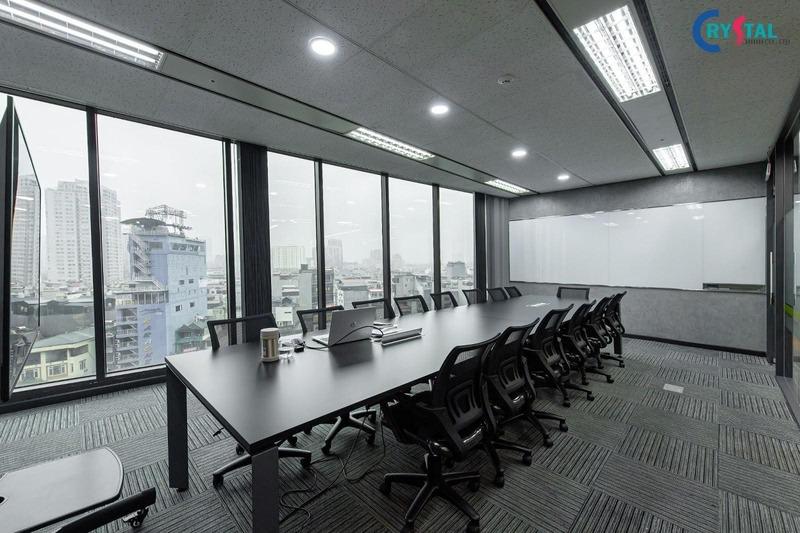 thi công nội thất phong cách industrial - Crystal Design TPL