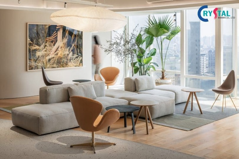 thi công nội thất trọn gói giá rẻ hcm - Crystal Design TPL