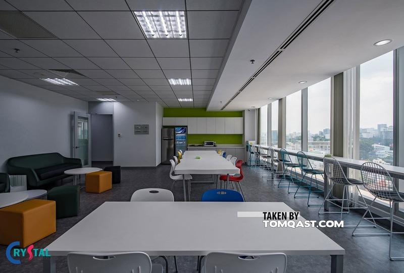 thi công nội thất văn phòng trọn gói - Crystal Design TPL