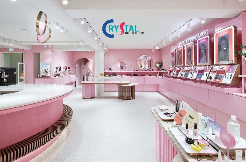 thi công showroom chuyên nghiệp uy tín - Crystal Design TPL