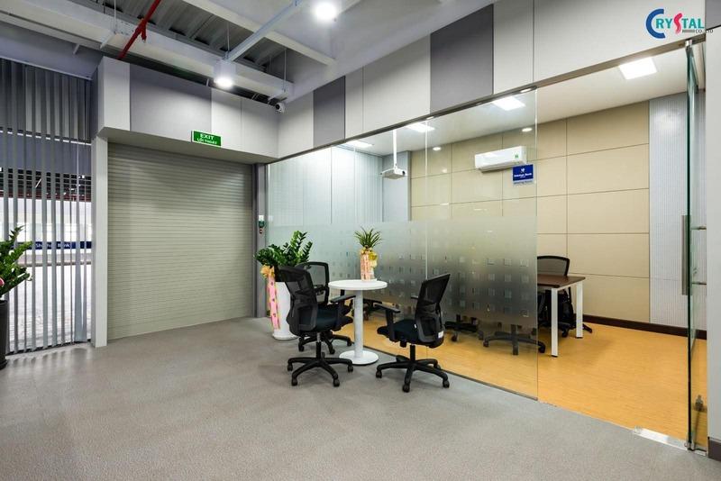 thi công thiết kế nội thất công nghiệp - Crystal Design TPL