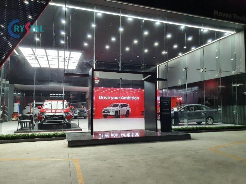 thi công thiết kế showroom ô tô - Crystal Design TPL