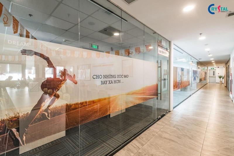 thi công văn phòng theo phong cách industrial interior - Crystal Design TPL