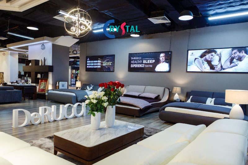 thiết kế Showroom kiến tạo không gian trưng bày ấn tượng - Crystal Design TPL