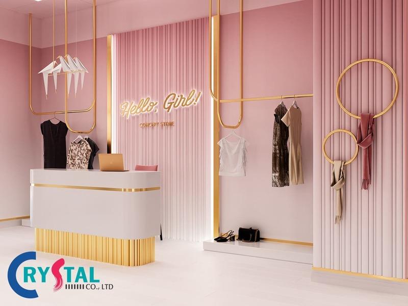 thiết kế cửa hàng chuyên nghiệp - Crystal Design TPL