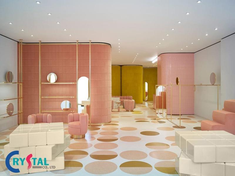thiết kế cửa hàng thu hút khách - Crystal Design TPL