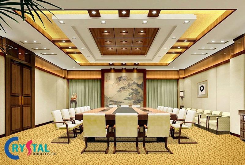 thiết kế diện tích phòng họp đúng chuẩn - Crystal Design TPL