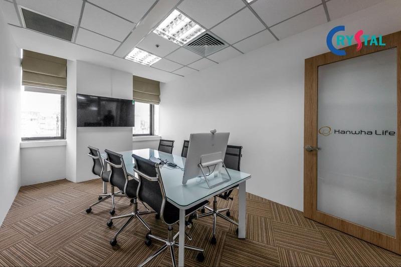 thiết kế không gian làm việc - Crystal Design TPL