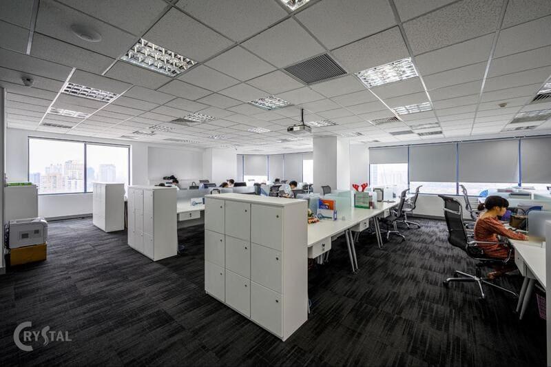 thiết kế không gian làm việc văn phòng
