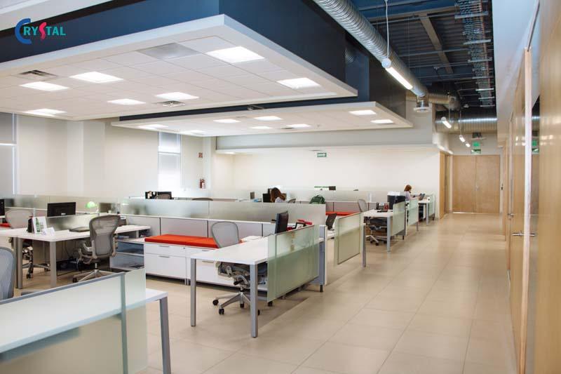 thiết kế không gian trong phòng làm việc