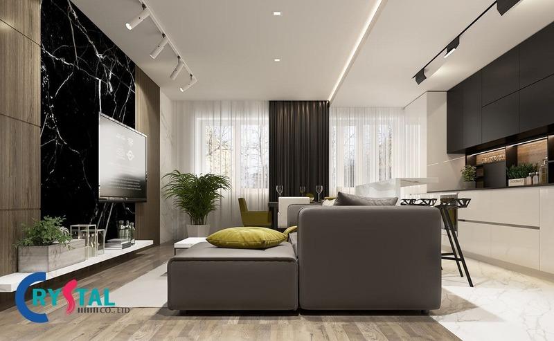 thiết kế nhà hiện đại phong cách - Crystal Design TPL