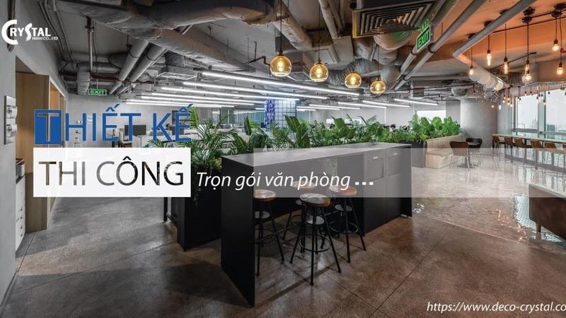 thiết kế nhà ở kết hợp kinh doanh văn phòng - Crystal Design TPL