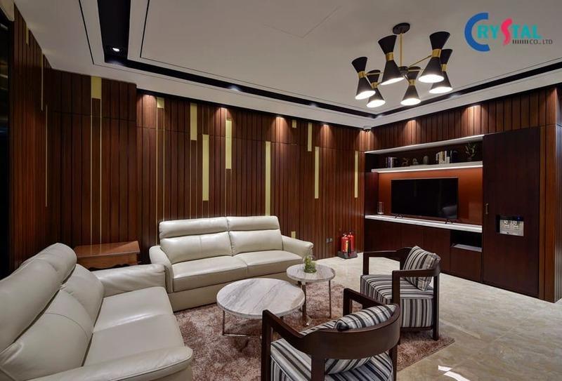 thiết kế nội thất chung cư giá rẻ - Crystal Design TPL