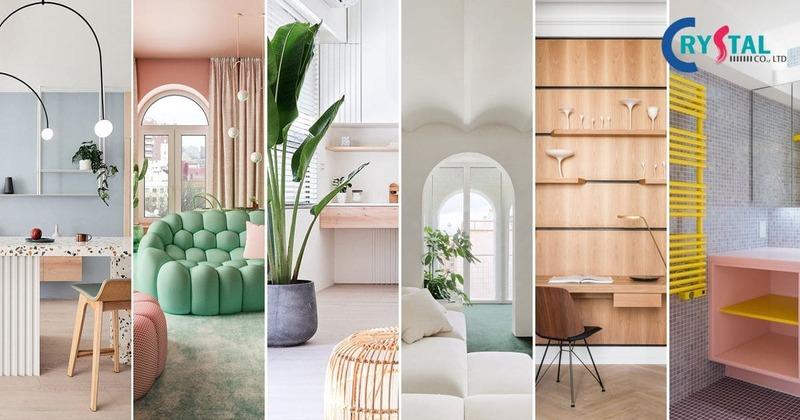 thiết kế nội thất chung cư trọn gói - Crystal Design TPL