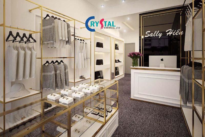 thiết kế nội thất cửa hàng chuyên nghiệp - Crystal Design TPL