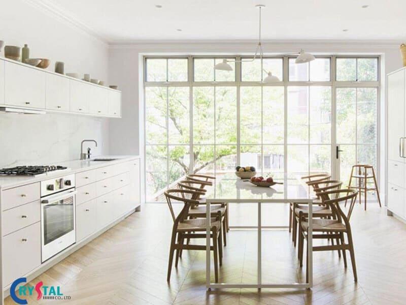 thiết kế nội thất hiện đại là gì - Crystal Design TPL