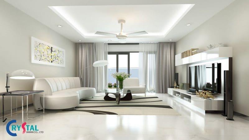 thiết kế nội thất hiện đại - Crystal Design TPL