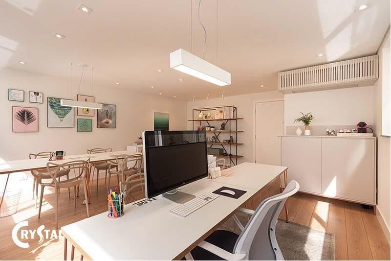 thiết kế nội thất phong cách minimalist - Crystal Design TPL