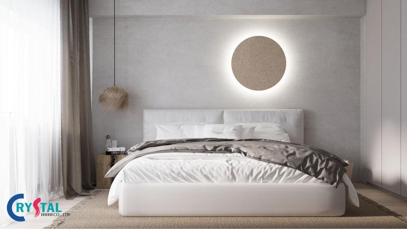 thiết kế nội thất phong cách tối giản - Crystal Design TPL