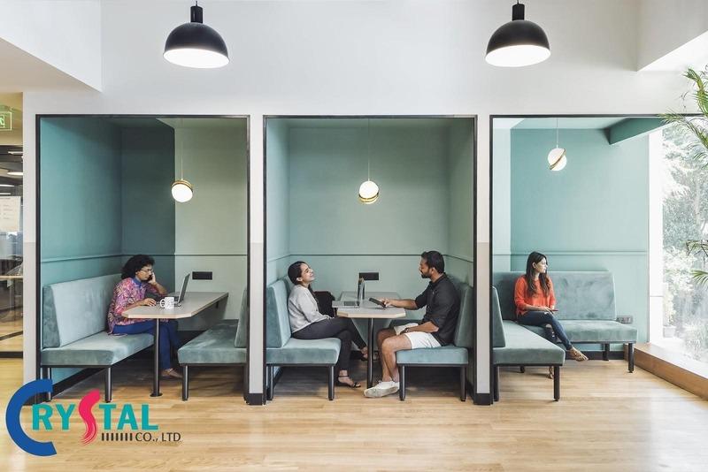 thiết kế nội thất phòng phụ trợ - Crystal Design TPL