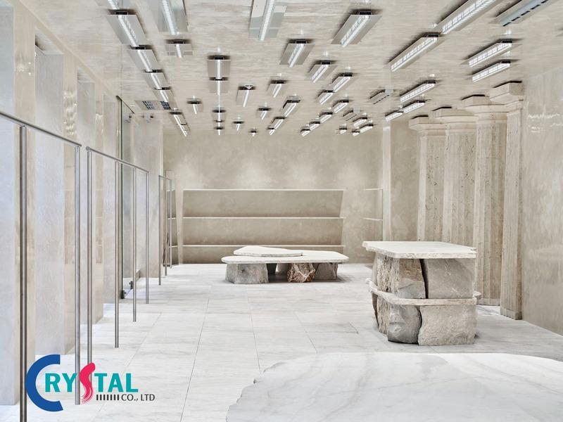 thiết kế nội thất shop - Crystal Design TPL