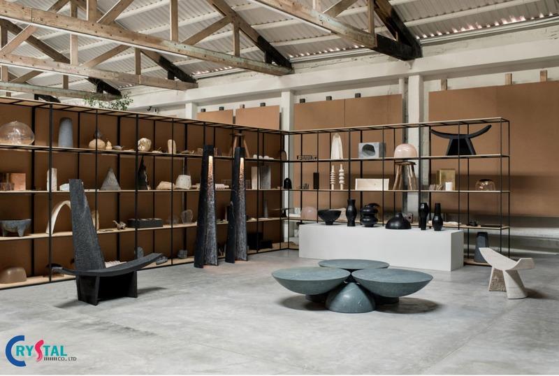 thiết kế nội thất showroom đẹp - Crystal Design TPL