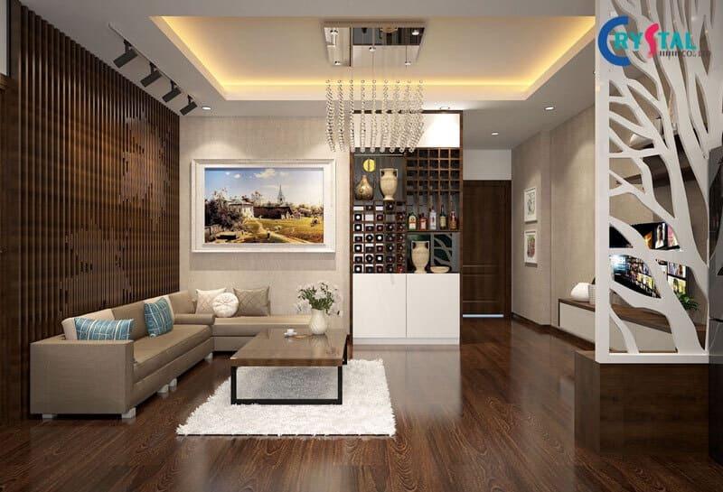 thiết kế nội thất trọn gói - Crystal Design TPL