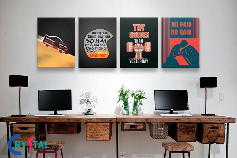 thiết kế nội thất văn phòng 3d - Crystal Design TPL