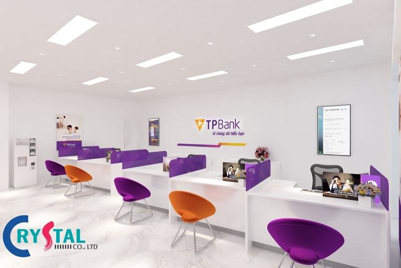thiết kế nội thất văn phòng giao dịch - Crystal Design TPL