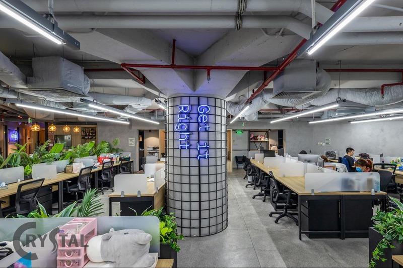 thiết kế nội thất văn phòng nhỏ - Crystal Design TPL